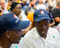 Truck Driver's  information session in South Africa. February 2019