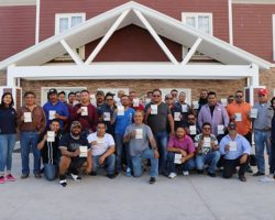 Group of truck drivers with their H2B Visa approved! October 2018.